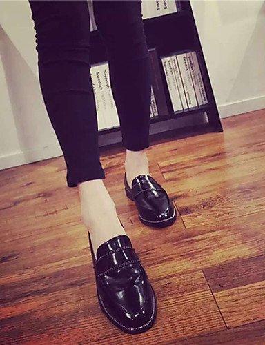 ShangYi Scarpe Donna - Mocassini - Casual - Chiusa - Basso - Finta pelle - Nero Black
