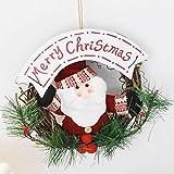 Weihnachtskranz dekoriert Türen und Fenster Girlande Durchmesser 20cm , 2 , 20cm
