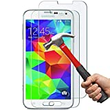 KEEP YOUR SMARTPHONE SCREEN SAFE  1.Tempered glass protectors is made of chemical processed glass,which has excellent windows display ,high sensitivity and comfortable touch feeling. 2.Anti-oil coating,avoid smudges and reduce the fingerprints. 3.Su...