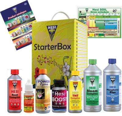 Booster Kit (Hesi Starter-Set Boden-Nährstoff Cannabis Grow Dünger Booster)
