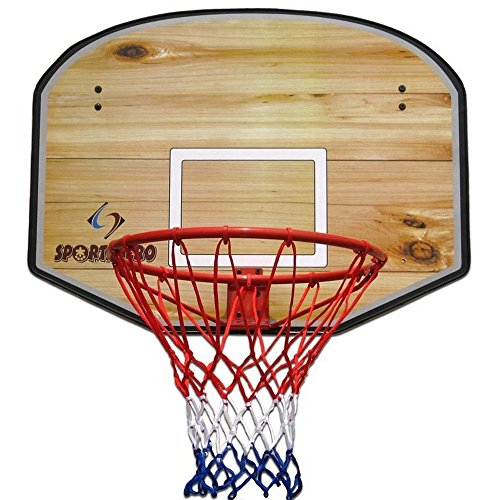 Basketball Hoop Ring With Net Great for Outdoors Professional Basketball Hoop Ring 18 Full Size by UMKY