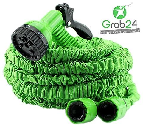 GYD Gartenschlauch Set Bewässerungsschlauch Automatik-Flexibler-Gartenschlauch 30m. ausgedehnt,