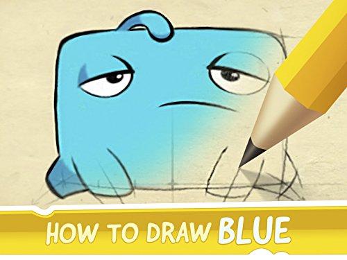 Clip: Wie zeichne Blue von Cut the Rope 2