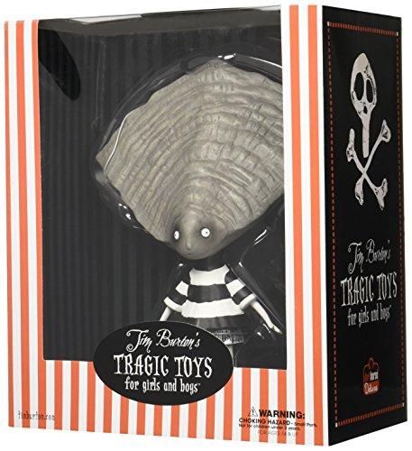 Preisvergleich Produktbild Tim Burton Oyster Boy Vinyl Figure (Tim Burton's Tragic Toys for Girls and Boys)