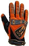 Motocross Handschuhe Farbe: orange . Größe: L