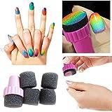 Moonar® 4pcs set de uñas