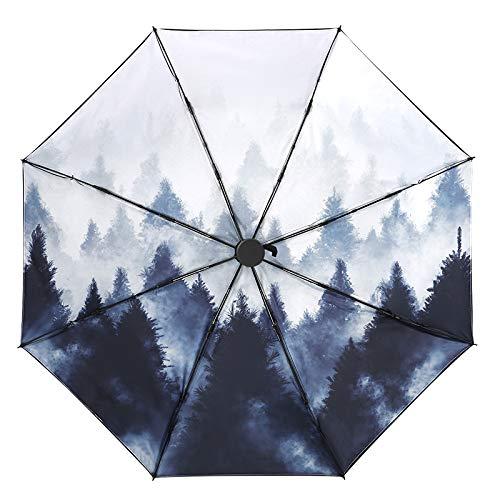 Schirme, Regenschirme, Uv-Schutz-Sonnenschirme, Doppelschichtiger Sonnenschutz, Vintage-Vinyl-Schirme