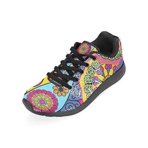 Zenzzle Running Chaussures Femme Noir Noir Couleur2