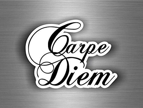 ber Sticker Auto Motorrad Tuning Tribal Bomb JDM Carpe Diem Namaste R4 ()