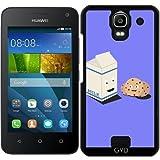 Hülle für Huawei Y360 - Cookies Und Milch Am Besten by ilovecotton
