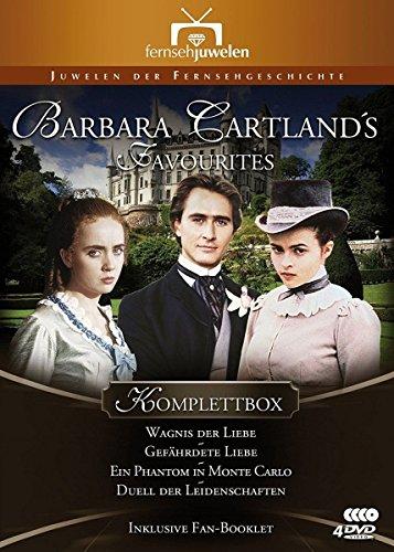Barbara Cartland's Favourites Komplettbox (Wagnis der Liebe / Gefährdete Liebe / Ein Phantom in Monte Carlo / Duell der Leidens