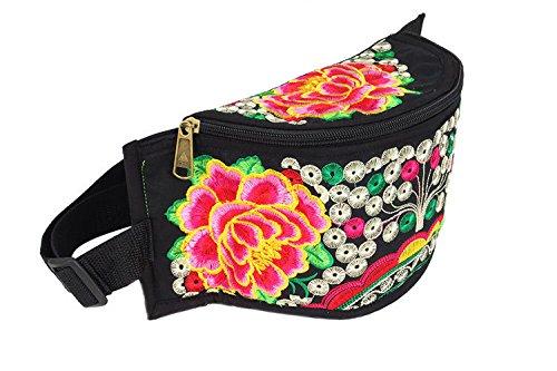 ZYT Ricamati a mano creativo borsa piccola borsa portafoglio donna . shake qian shu peony