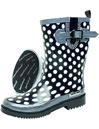 BOCKSTIEGEL® DORIN Mujer - Botas de goma con estilo | Tallas: 36-42