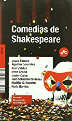 Comedias de Shakespeare/ Shakespeares Comedies (451.Re:)
