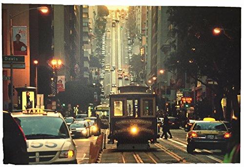CREATIVE MOTION Kabel Auto in San Francisco erleuchtet 3D Malerei (Creative Motion-lampe)