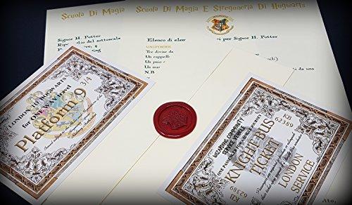 comprare on line Harry Potter Lettera di Accoglienza ad Hogwarts Personalizzata prezzo