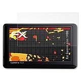 atFoliX Folie für Garmin nüvi 1490 Displayschutzfolie - 3 x FX-Antireflex-HD hochauflösende entspiegelnde Schutzfolie
