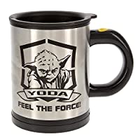 - Officially licensed thermo mug- Capacity: 330 ml- Content stirs itself on touch of the button- Batteries not included (2 x AAA).Not dishwasher safe.