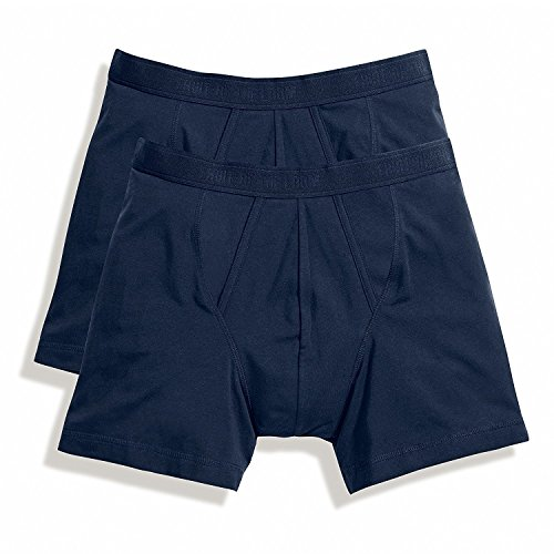 Fruit of the Loom Men's Boxer Classic Underpants Pack of 2