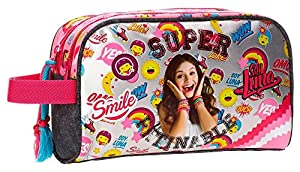 Trousse double compartiment adaptable Soy Luna Smile
