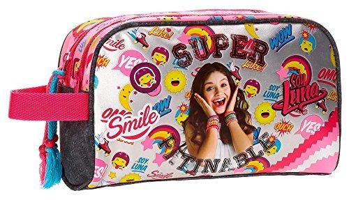 DisneyTrousse double compartiment adaptable Soy Luna Smile