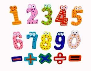 Enfant's frigo Aimants ludique et pédagogique pour les enfants