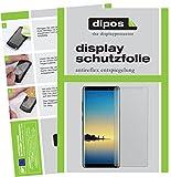 dipos I 6X Schutzfolie matt passend für Samsung Galaxy Note 8 Folie Bildschirmschutzfolie (3X Vorder- und 3X Rückseite)
