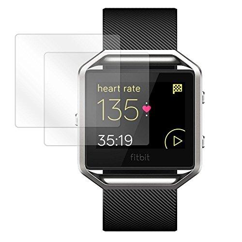 Boxwave Cleartouch Screen Protector (BoxWave Fitbit Blaze Displayschutzfolie, [ClearTouch blendfrei (2er-Pack)] Anti-Fingerabdruck-Folie, Matte Folie für Fitbit Blaze)