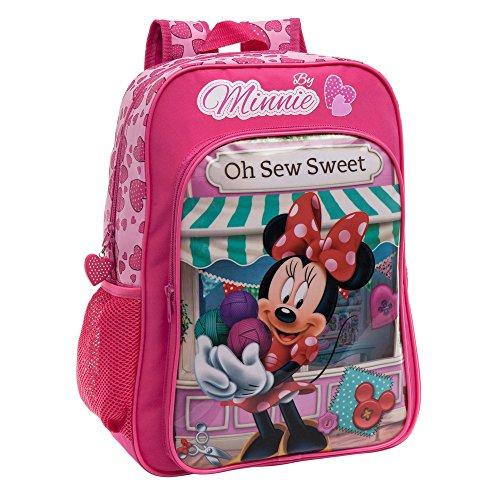 Disney zaino adattabile al carrello minnie sew, multicolore, 19.2 litri, 40 cm