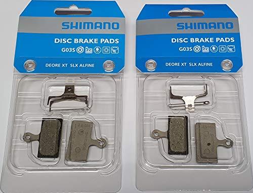 Tuning Pedals Y-8WW98020 - Set di 2 pastiglie freno Shimano G02S, anteriori e posterio