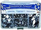 Kreul 49640 - Schmucksteine Set Transparent