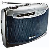 Philips AE2160/04 Radio Portable Tuner Analogique Piles ou Secteur 300 Mw Réglage Son