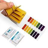 P Accmart pH-Wert-Indikator-Teststreifen, Lackmuspapier, 1-14, 160 St¨¹ck