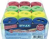 Stylex Doppelspitzer 'Tonne' farblich Sortiert, 4 Stück