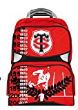 Sac à Dos roulettes Scolaire Toulouse - Collection Officielle STADE TOULOUSAIN