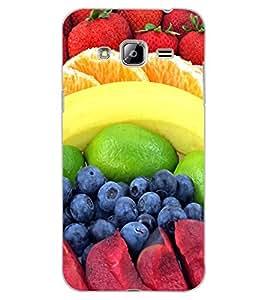 ColourCraft Fruits Design Back Case Cover for SAMSUNG GALAXY J3