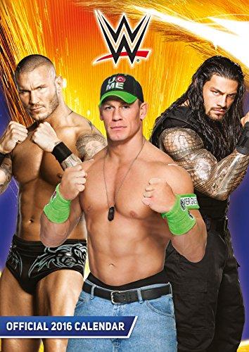 Official World Wrestling (Wwe) 2016 A3 Calendar