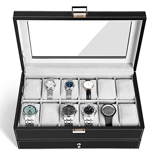 Zoom IMG-2 amzdeal scatola di orologio custodia