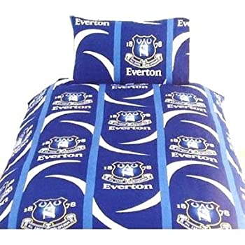 EVERTON Football Club Single BED Duvet//Quilt Cover Bedding Set LIMITED EDITION