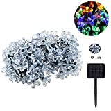 ANG ®100 LED Solar String Fairy Lights 15m Blossom for Indoor ,Outdoor, Garden, Home ,Christmas ,Wedding and Party