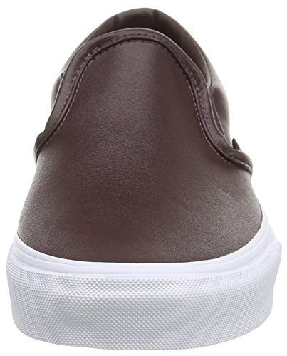 Vans VZMRFJH, Unisex Adults' Low-Top Sneakers, Red (Leather – Burgundy), 4 UK (36.5 EU)