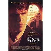 Il talento di Mister Ripley Poster Film 11 pollici x 17 pollici (28 cm x 44 cm) Blanchett MATT Damon Jude Law Gwyneth Paltrow Cate Philip Seymour Hoffman jack Davenport