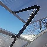 Automatischer Fensteröffner Temperaturgesteuert mit 7 kg Hubkraft für Gewächshaus Treibhaus Frühbeet autom. Fensterheber
