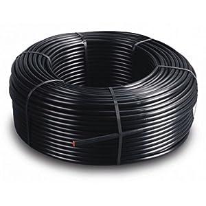 Pcriegos 02059-Tubería de Goteo 16mm Goteros Cada 20 cm Bobina de 400 Metros Turbulento
