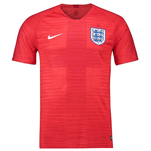 Nike Herren England Away Stadium T-Shirt, mehefarbig (Challenge Red/Gym Red/White), M (Nike Wayne Rooney)