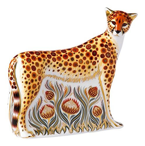 Royal Crown Derby Mother Cheetah Paperweight