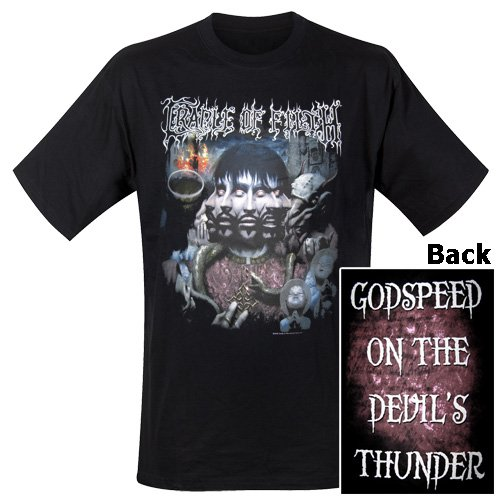 Cradle of Filth - T-Shirt Godspeed on the evilŽs thunder (in XXL)