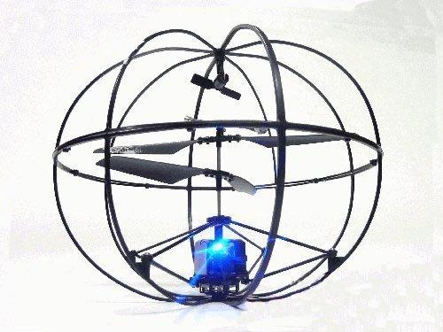 [Geschenk-web] ROBOTER UFO! ? Gyro montiert Kugel Kugel-3ch Infrarot-RC Hubschrauber