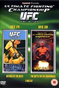 UFC Ultimate Fighting Championship 29 and 30 [DVD]
