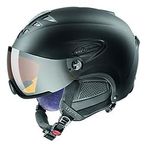 UVEX Skihelm hlmt 300 visor, Black Mat, 53-56 cm, S5661622204